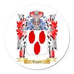 Egger Round Car Magnet