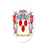 Eggar Oval Car Magnet