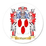 Eggar Round Car Magnet