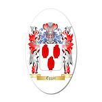 Eggar 20x12 Oval Wall Decal