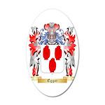 Eggar 35x21 Oval Wall Decal
