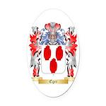 Eger Oval Car Magnet