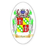 Egan Sticker (Oval 50 pk)