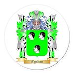 Egalton Round Car Magnet