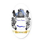 Eells Oval Car Magnet