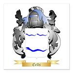 Eells Square Car Magnet 3