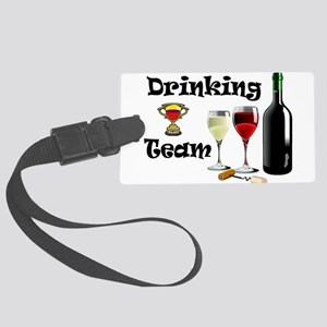 DRINKING TEAM Luggage Tag