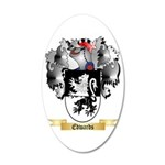 Edwards 20x12 Oval Wall Decal