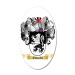 Edwards 35x21 Oval Wall Decal