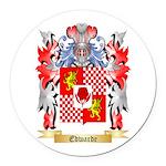 Edwarde Round Car Magnet