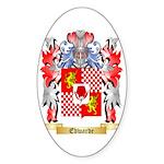 Edwarde Sticker (Oval)