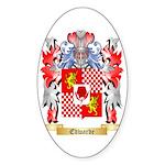 Edwarde Sticker (Oval 10 pk)