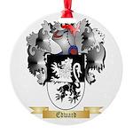 Edward Round Ornament