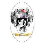 Edward Sticker (Oval 10 pk)