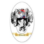 Edward Sticker (Oval 50 pk)