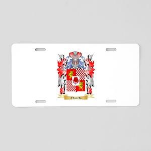 Eduardo Aluminum License Plate