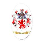 Edridge Oval Car Magnet