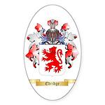 Edridge Sticker (Oval)