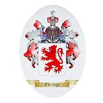Edridge Ornament (Oval)