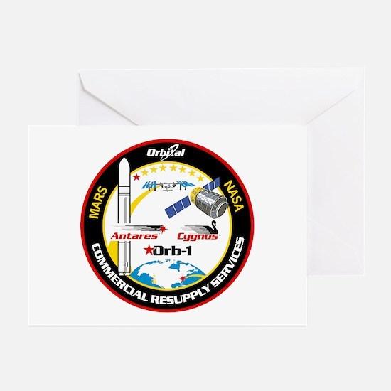 Antares/Cygnus Greeting Cards (Pk of 10)