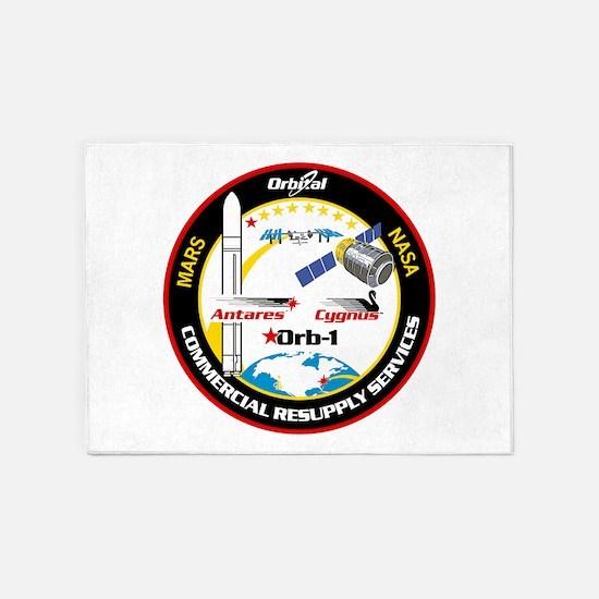 Antares/Cygnus 5'x7'Area Rug