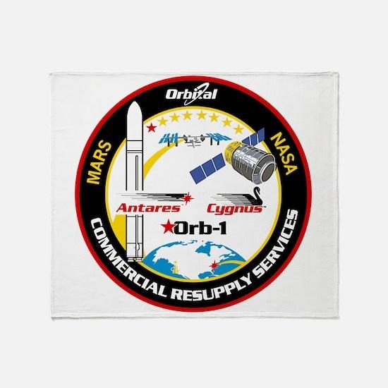 Antares/Cygnus Throw Blanket