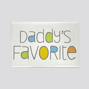 Daddy's Favorite Rectangle Magnet
