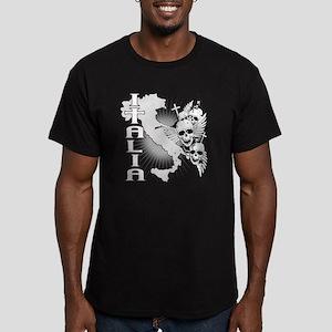 italian pride Men's Fitted T-Shirt (dark)