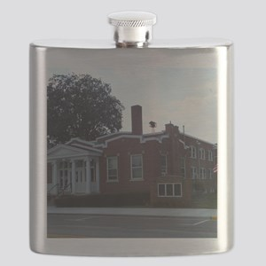 Town Hall West Alexandria Ohio#1 Flask