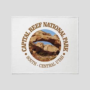 Capital Reef NP Throw Blanket