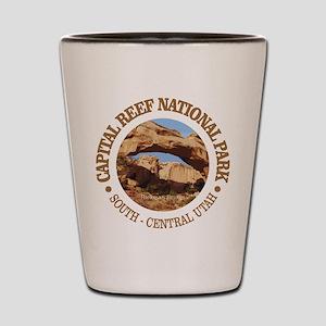 Capital Reef NP Shot Glass