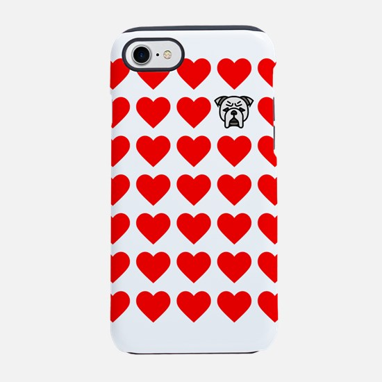 Lots of Bulldog Love iPhone 7 Tough Case