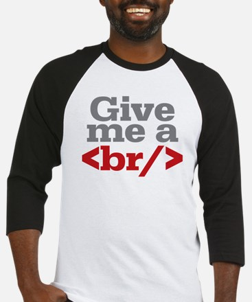 Give Me A Break HTML Baseball Jersey