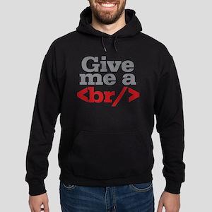 Give Me A Break HTML Hoodie (dark)