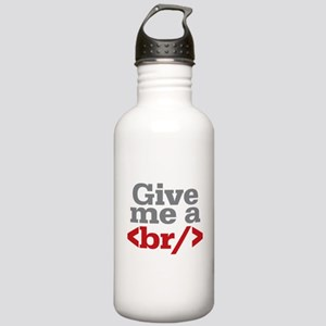 Give Me A Break HTML Stainless Water Bottle 1.0L