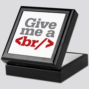 Give Me A Break HTML Keepsake Box