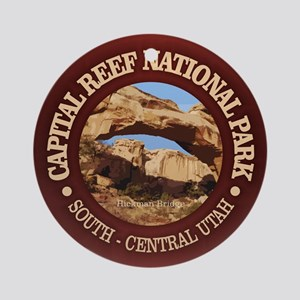 Capital Reef NP Round Ornament