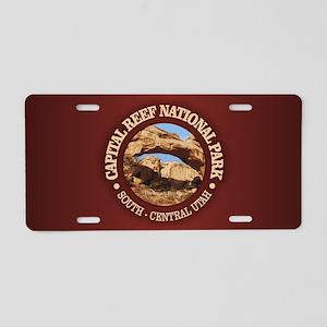 Capital Reef NP Aluminum License Plate