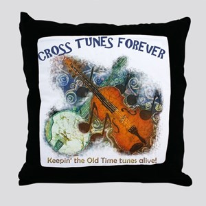 Cross Tunes Forever 2 Throw Pillow