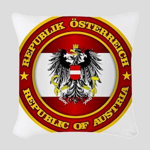 Austria Medallion Woven Throw Pillow