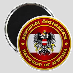 Austria Medallion Magnet
