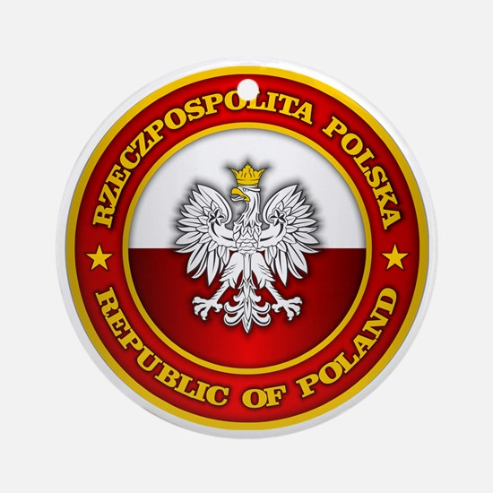 Polish Medallion Round Ornament