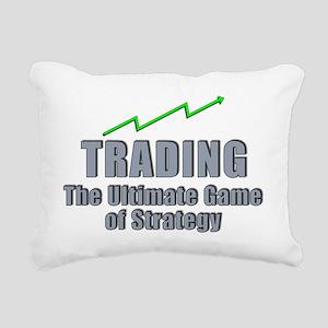 Trading the ultimate gam Rectangular Canvas Pillow