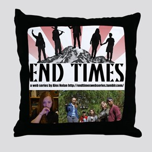 End Times Archivist Throw Pillow