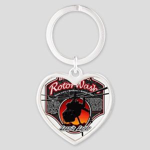 RotorWash Brewing Co. - Leann Lager Heart Keychain