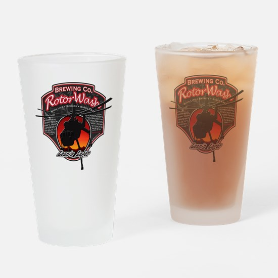 RotorWash Brewing Co. - Leann Lager Drinking Glass