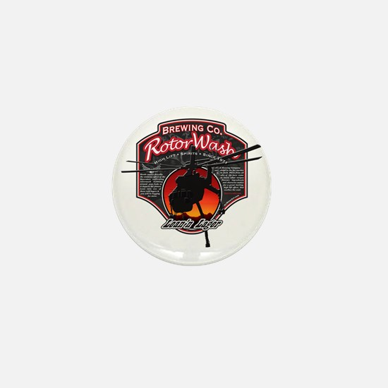 RotorWash Brewing Co. - Leann Lager Sk Mini Button