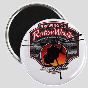 RotorWash Brewing Co. - Leann Lager Skycran Magnet