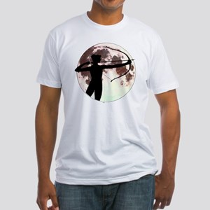 Artemis the bow hunter Fitted T-Shirt