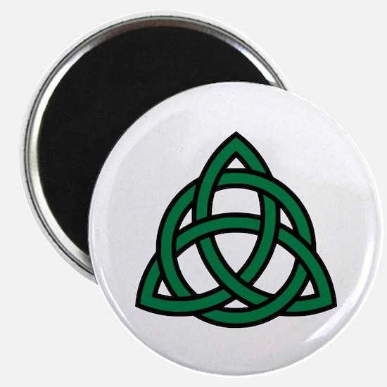 "Green Celtic knot 2.25"" Magnet (10 pack)"